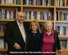 Muriel Mandell has been a volunteer with the SeniorNet center in Manhattan for 20 years, since its founding.