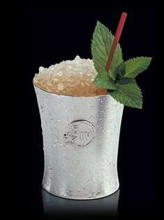 Mint Julep with Makers Mark of course    This cocktail is as much a part of Southern culture as hospitality. With pronounced sugar and mint notes, the Mint Julep goes exceedingly well with long summer days, horses, pretty hats and good company.