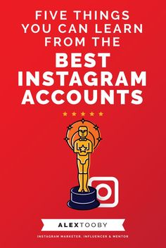 Want to learn how to pros get hundreds of thousands of followers? endless engagement and turn their followers into customers? Check out this article by Instagram expert Alex Tooby. She shares five things you can learn from the best instagram accounts! They're all simple and easy to implement today too, bonus!
