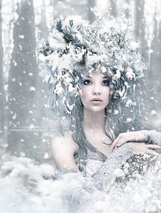 Winter Queen by megan7 on deviantART