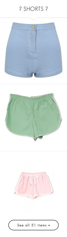 """♡ SHORTS ♡"" by na-ri ❤ liked on Polyvore featuring shorts, bottoms, short, pants, high waisted short shorts, denim short shorts, high waisted hot pants, hot short shorts, high-waisted jean shorts and sport"