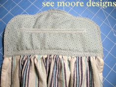 Great Idea for Kitchen Towels You can use your Vintage Fabrics up. Hot Flash'n Craft'n: Easy Hanging Towel Tutorial