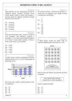 avaliação de matematica para 5 ano dicas