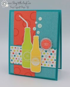 Stampin' Up! Bubble Over Card – Stamp With Amy K