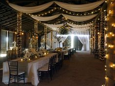 Love the draping in this   Weddings | Desert Foothills Events And Weddings