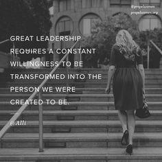 """""""Great leadership requires..."""" #PersonalLeadership"""