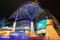 Рождественские огни в Сингапуре
