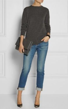 How To Wear Skinny Jeans 10 Best Outfits - Mode - Fashion ideas - Mens, Women's Outfits Look Fashion, Autumn Fashion, Fashion Outfits, Womens Fashion, Fashion Trends, 50 Fashion, Ladies Fashion, Modest Fashion, Fasion