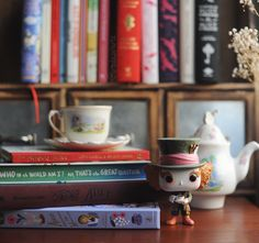 A little Mad Hatter love for this Saturday morning... - Reading is a journey...