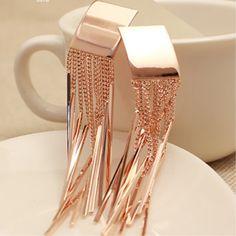 High Quality Gorgeous Tassels Earrings