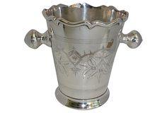 Silverplate Champagne Bucket on OneKingsLane.com