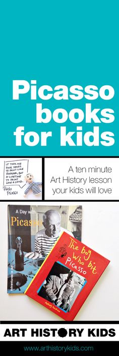Picasso Books for Kids — Art History Kids
