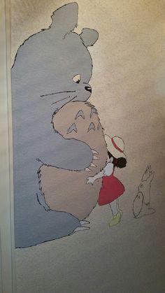 Der Anfang meines Studio Ghibli Flurs