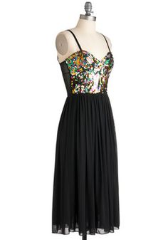 Dance Sequence Dress, #ModCloth