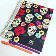 Budget Planner from Erin Condren. Follow @tracy_has_a_plan on Instagram.
