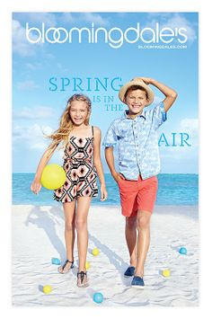 ★ DESIGN ARMY – Bloomingdale's: Spring Is In The Air (Editorial Design and Art Direction) © Design Army LLC