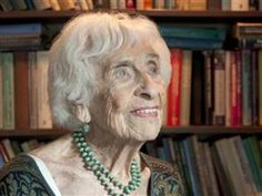 Dr Hedda Bolgar, psychoanalyst, died peacefully at her home on May 13th 2013, aged 103.  She saw clients four days a week until very recently, and was a wonderful woman and a beautiful example of how to age gracefully, with dignity and with an astonishing verve for life.  Rest in peace, Hedda.  For more on Hedda's life, see www.beautyofaging.com
