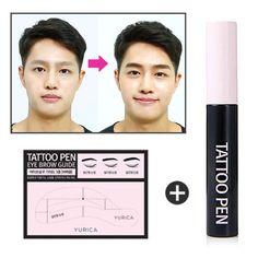 Korean Cosmetics Yurica Eyebrow TATTO PEN 1Set For Men Women Lasting for 7days #YuricaKBeauty