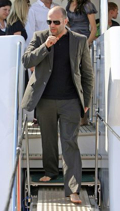 Jason Statham in Cannes, France