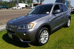 2013 Bmw X3 xDrive28i AWD xDrive28i 4dr SUV SUV 4 Doors Space Gray Metallic for sale in San diego, CA Source: http://www.usedcarsgroup.com/used-bmw-for-sale-in-san_diego-ca