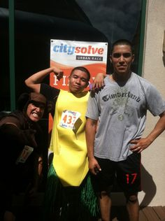 Honolulu CitySolve Urban Race Costume Winners 2012