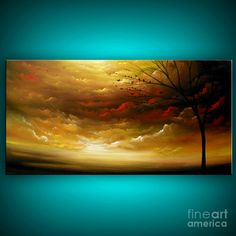 """Golden Dream""  by Matthew Hamblen  Acrylic on Canvas"