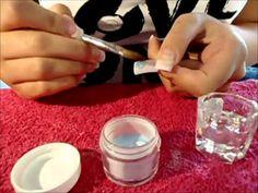 D.I.Y - Making Acrylic Powders - YouTube