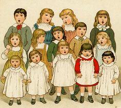Antique Book Illustration - Ida Waugh