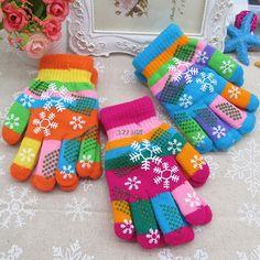 >> Click to Buy << Autumn Winter Children Thicken Thermal Gloves Knitting Yarn Snow Boy Girl Gloves #Affiliate