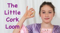 If you don't have a Rainbow Loom, today is your lucky day! Rosie shows you how to make a single chain bracelet with a little cork. Lucky Day, Rainbow Loom, Fun Things, Cork, Tea Party, Princess, Videos, Awesome, How To Make