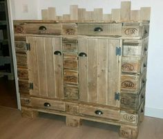 pallets entryway table