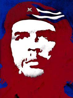 Havana, Cuba, famosa cidade de Che Guevara e Fidel Castro