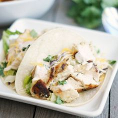 These Grilled Chipotle Chicken Tacos are so delicious! Perfect for summer grilling.