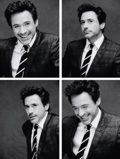 Robert Downey Jr. and his smile.