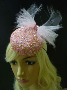 Miss Confetti ~ Stunning headpiece for the young at heart $175 #hats #fascinator