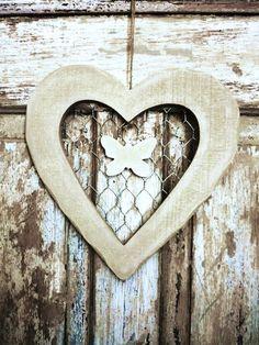Chicken Wire Heart