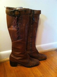 63a79d966ad Maid Marian Lace Up Buckle Hippie Boots for Medieval by Gigworn