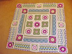 Ravelry: Project Gallery for Lily Pond Blanket CAL pattern by Jane Crowfoot