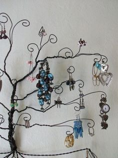 Jewellery tree - must find those pliers!