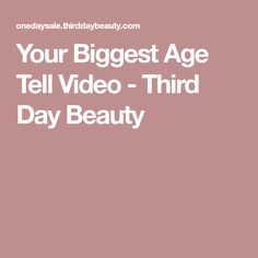 Your Biggest Age Tell Video - Third Day Beauty Saggy Eyelids, Sagging Skin, Beauty Secrets, Beauty Hacks, Beauty Tips, Beauty Solutions, Natural Solutions, Skin Tags Home Remedies, Natural Skin Tightening