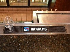 Drink and Bar Mat - NHL - New York Rangers