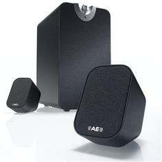 Acoustic Energy AE26-06B AEGO M 2.1 active speaker system Black - http://www.tohomeshop.co.uk/acoustic-energy-ae26-06b-aego-m-2-1-active-speaker-system-black/  Sound system for MP3 players, PCs Macs, mobile phones and other devicesEasy to setup and useHi-fidelity, high volume soundInstant home entertainmentBig hi-fi sound from the smallest devices
