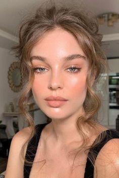 Natural Everyday Makeup, Natural Makeup Looks, Natural Summer Makeup, Bridal Makeup, Wedding Makeup, Prom Makeup, Nude Makeup, Makeup Glowy, Pale Skin Makeup