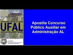 Apostila Concurso Público Auxiliar em Administração [ AL 2016 ]