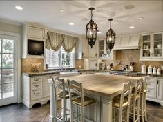 The classic or traditional style of French country kitchen table is the way you give to use the application impression of serenity in your kitchen. Description from mykitcheninterior.com. I searched for this on bing.com/images