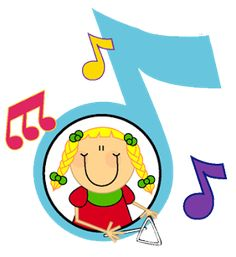Mila Villameriel Music Crafts Kids, Music For Kids, Art For Kids, Music Education, Kids Education, Sunday School Decorations, School Clipart, Baby Painting, Music Images