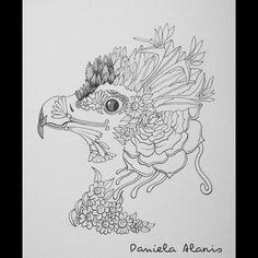 Proceso: Nature Águila Arpía  Mi arte/my arte #arte #art #artista #artist #ilustraciones #ilustracion #illustration #mywork #myart