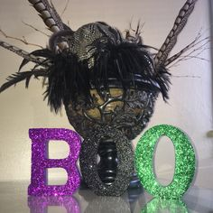 Get spooky this Halloween with witchy decor featured anywhere in your home! Prepare for a thriller! Production time: 2 days Small; $18.00 ($6.00 per letter)