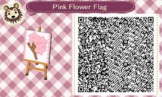 acnl flag | Tumblr Ollie-crossing Really pretty Pink flower (Cherry Blossom) Flag  LunaRip~OHMYGOSH I LOVE THIS!!!!