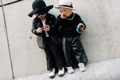 Tiny Street Style Stars at Seoul Fashion Week